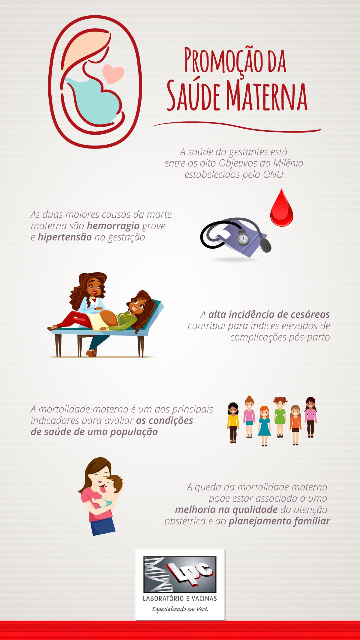 Infográfico Saúde Materna